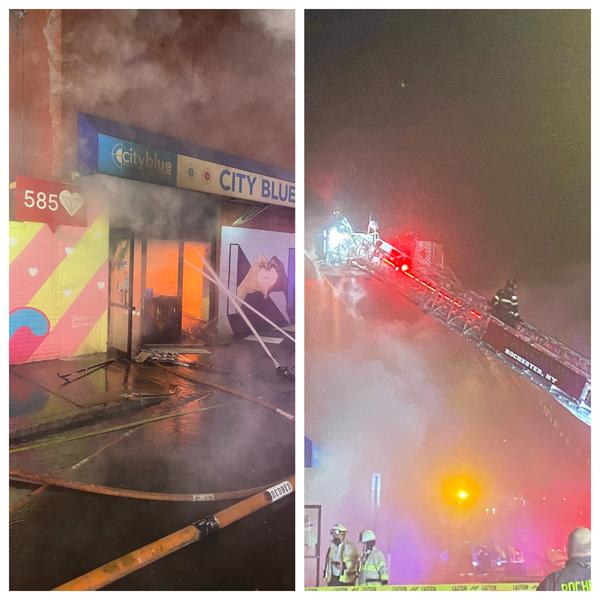 紐約州印刷廠平安夜起大火 被疑與選票有關