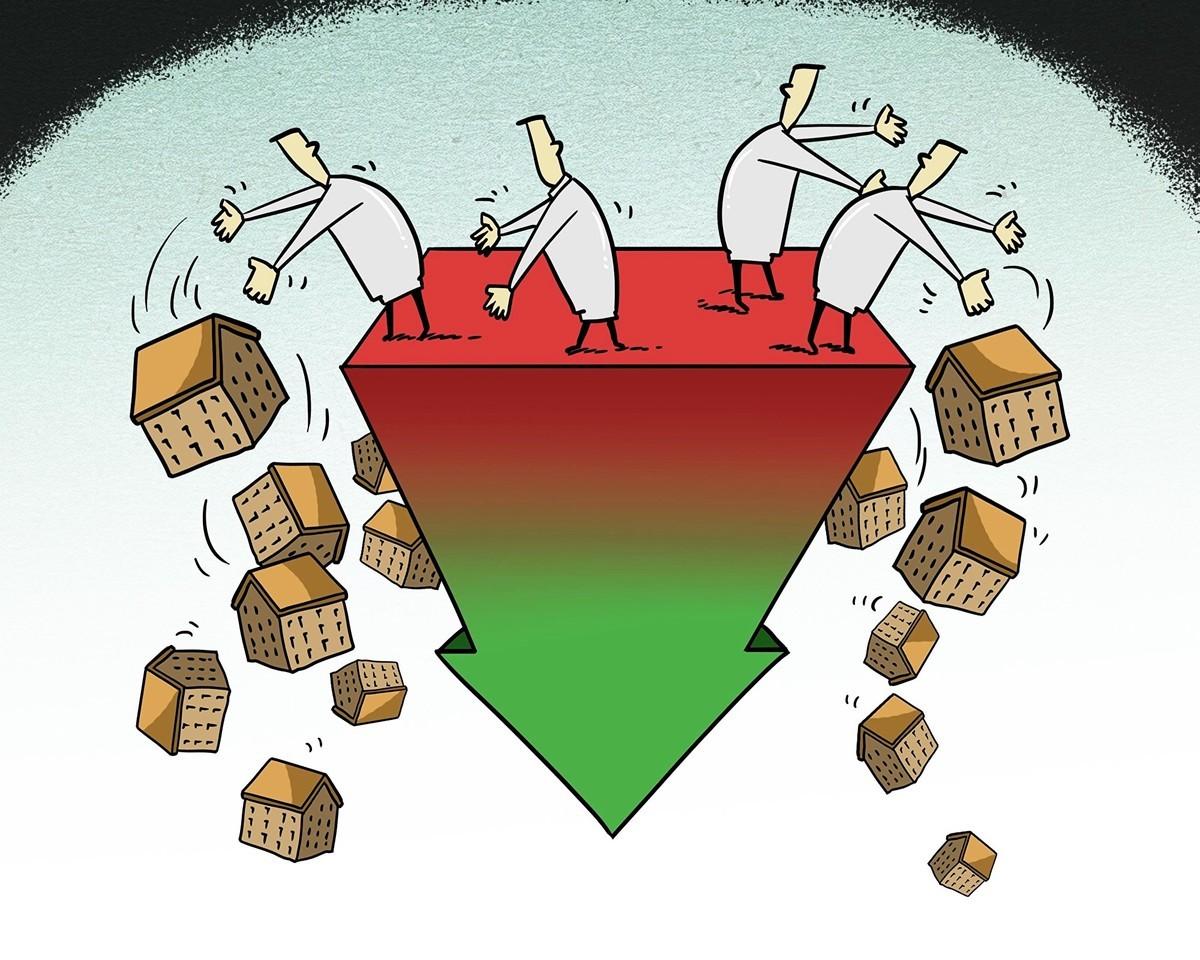 臨近年末,大陸A股一場甩賣資產潮再度襲來:除了辦公樓,還有酒店、商品房等。(大紀元資料室)