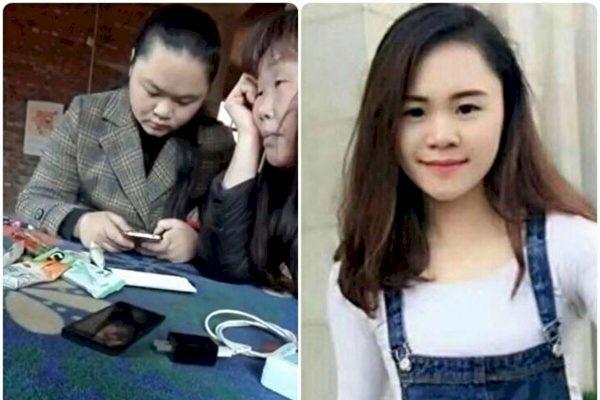 2020年11月30日,「潑墨女孩」董瑤瓊親自發影片,說自己的精神狀況正常。(合成圖片)