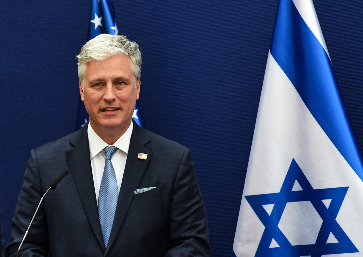 白宮國家安全顧問奧布萊恩8月30日表示,更多國家會跟隨阿聯酋,與以色列關係正常化。( DEBBIE HILL/POOL/AFP)
