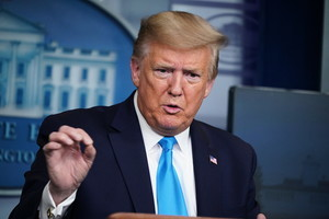 特朗普:世衛偏袒中共 美考慮擱置WHO資助
