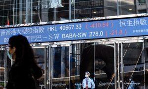 中國股市陷入2015年來最嚴重衰退