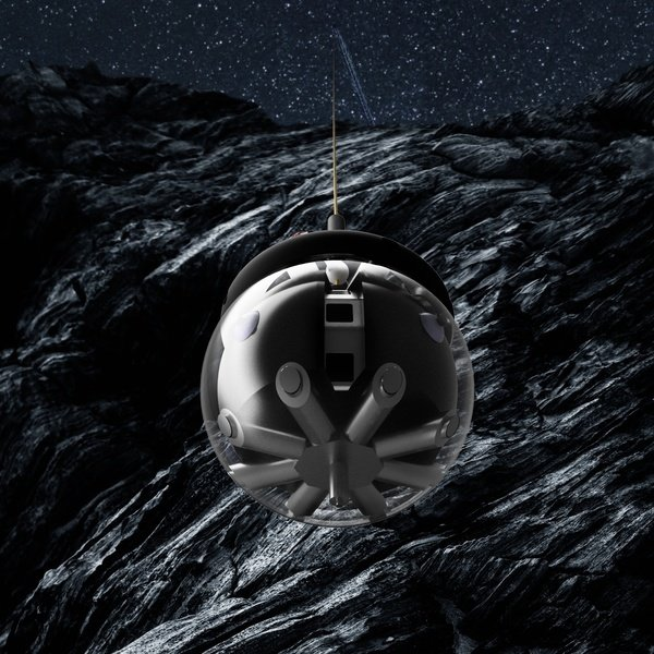 科學家用「倉鼠球」探險月球熔岩洞