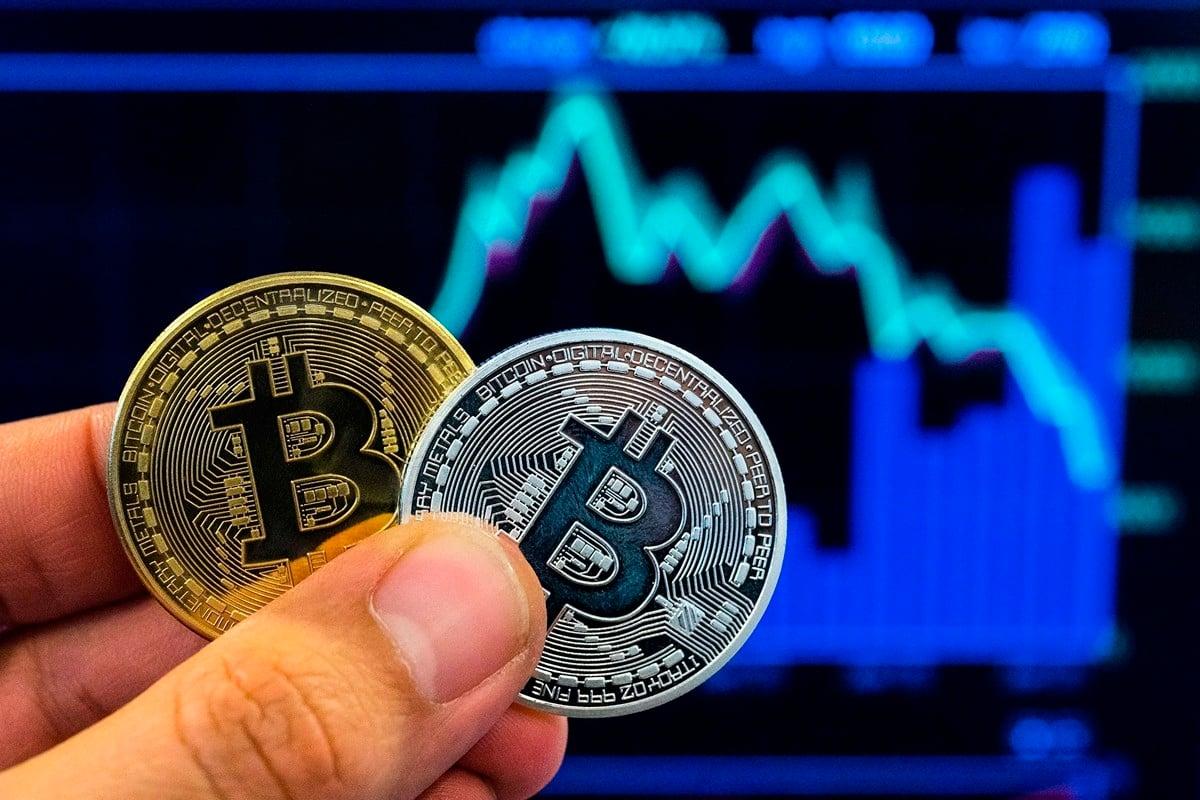 習近平指出將推動區塊鏈產業生態系,讓比特幣及區塊鏈概念股大漲。(JACK GUEZ/AFP/Getty Images)