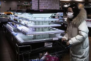 武漢大中商超不再對個人開放 物價高漲