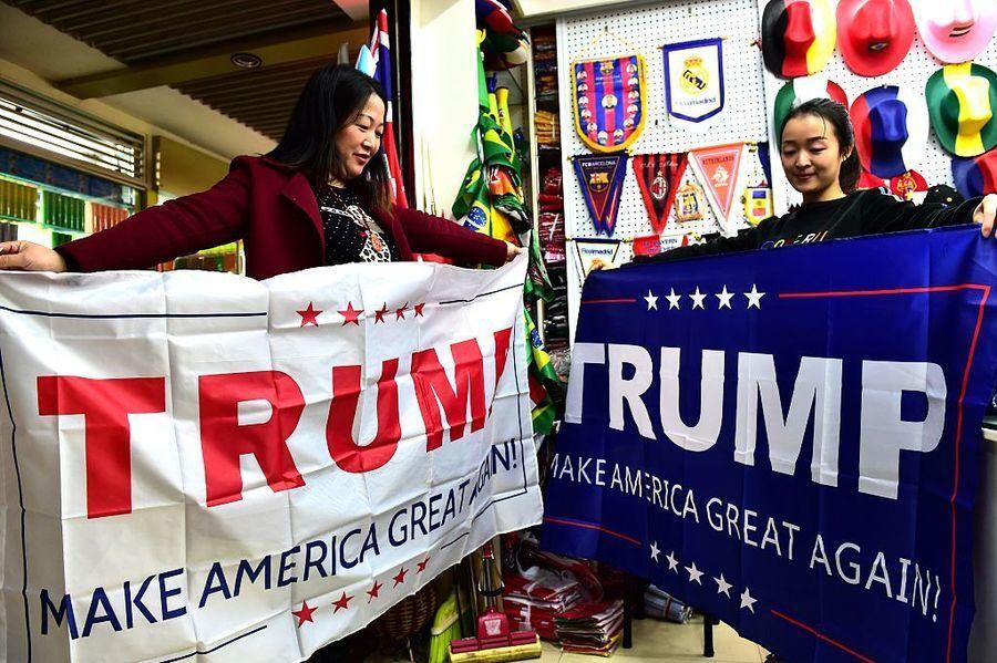 美大選誰贏?中國農民種植「特朗普形水果」熱賣