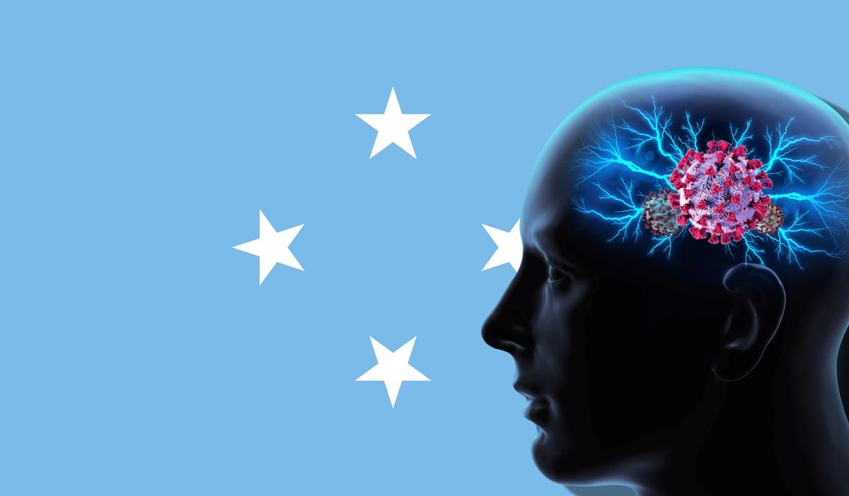 最新的研究表明,中共病毒(COVID-19,新冠病毒)不僅僅攻擊人的肺部和呼吸道,也可以攻擊人的大腦。(Shutterstock)