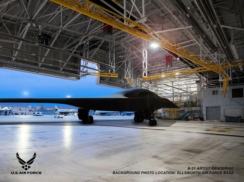 沈舟:美國B-21轟炸機已投產5架