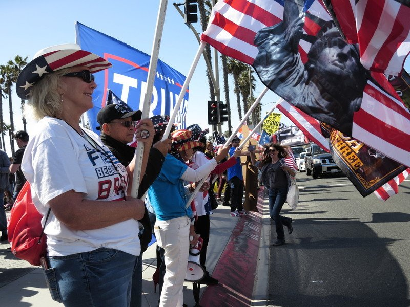 美加州民眾舉辦世界自由日集會 籲爭取自由權利(多圖)