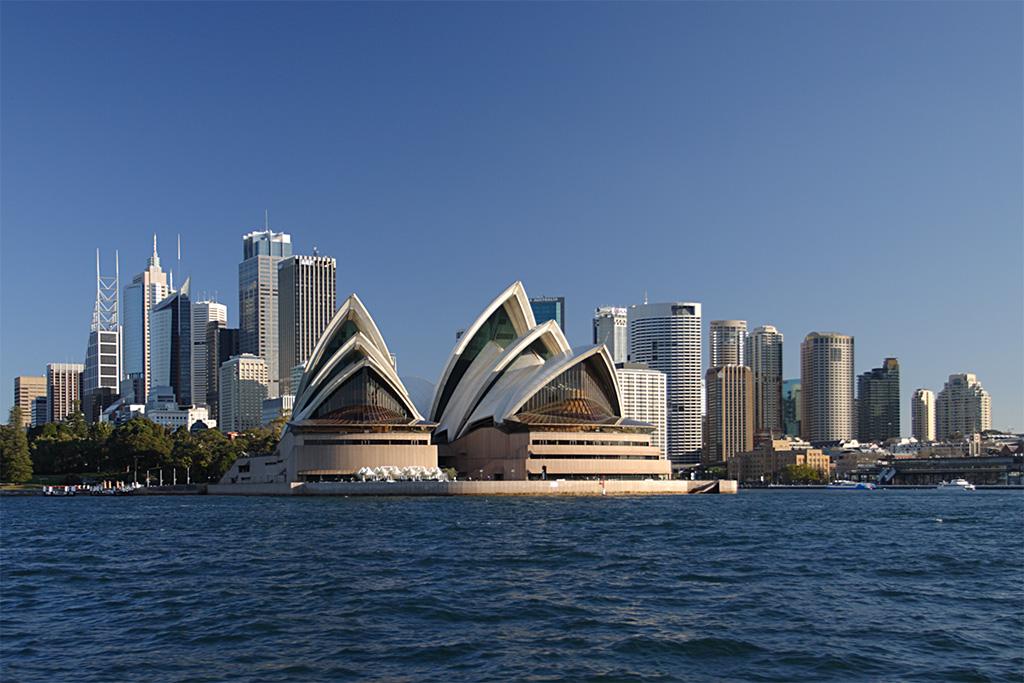 中共侵犯澳洲和紐西蘭的大學言論自由,在香港反送中運動期間尤為突出。圖為悉尼。(Mfield, Matthew Field/Wikimedia commons)
