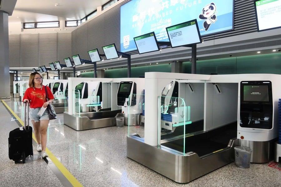 上海臉部識別自助登機系統 引侵害私隱憂慮