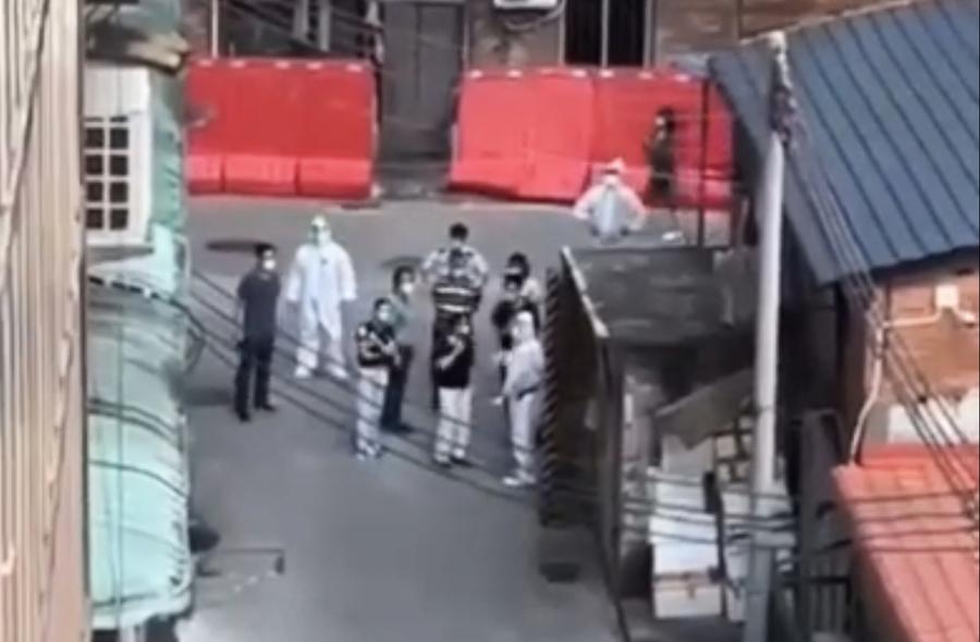 【一線採訪】官員視察 廣州人喊:沒吃的