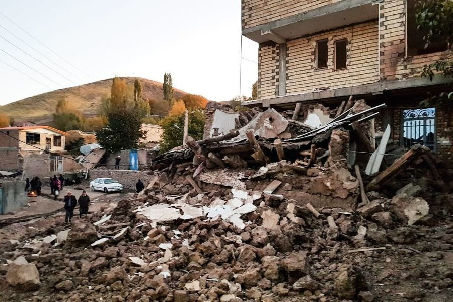 伊朗發生5.9級地震 至少5傷