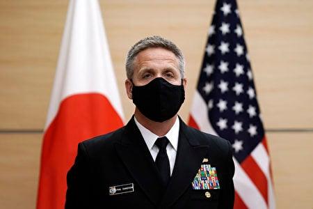 美軍印太司令部司令戴維森日前也提出警告,共軍將先進武器投入訓練和演習與中國大陸在印太地區的威脅,是美國關鍵挑戰之一。( EUGENE HOSHIKO/POOL/AFP via Getty Images)