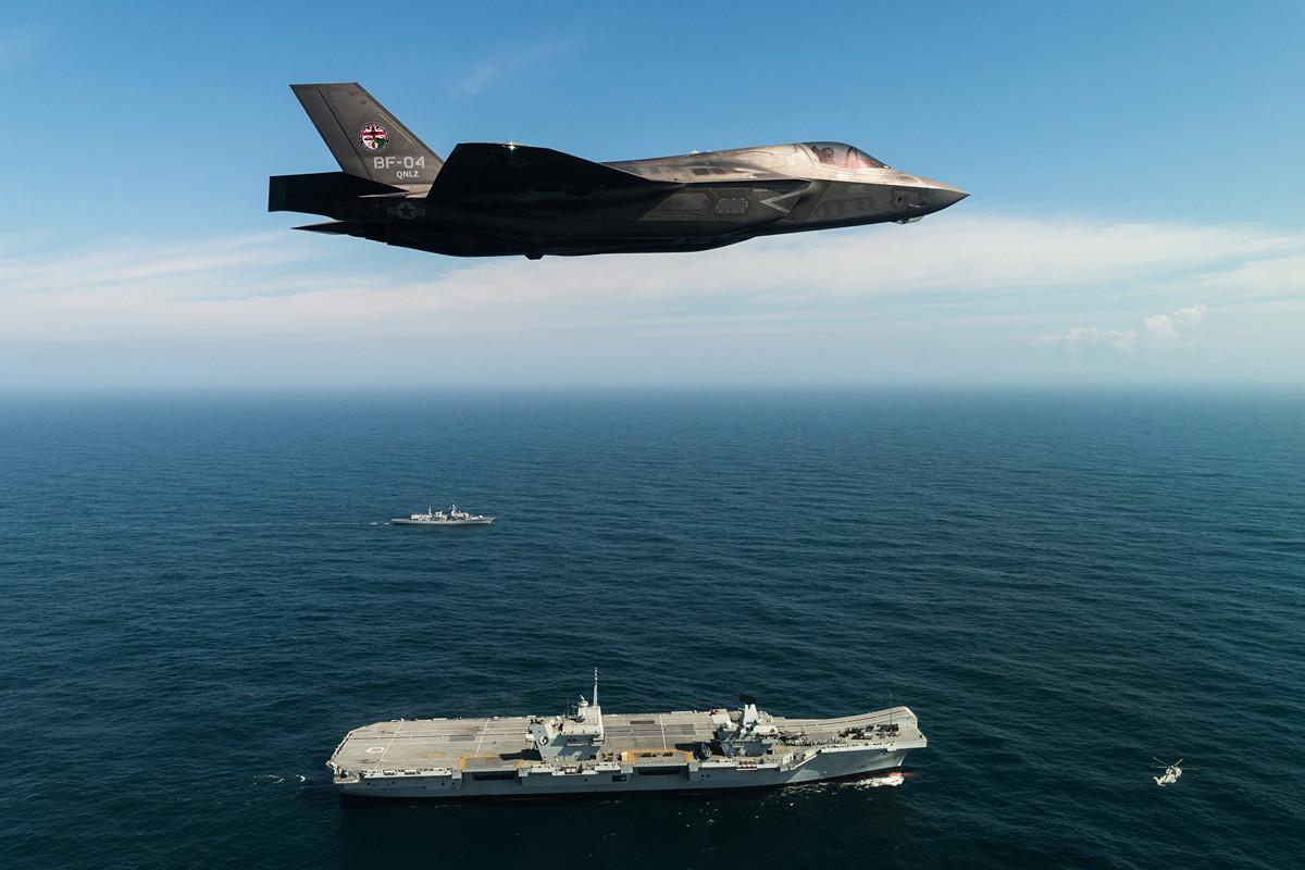 美國海軍飛行員多次目擊UFO,此事已引起越來越多美國官員的關注。(Lockheed Martin/Ministry of Defence via Getty Images)