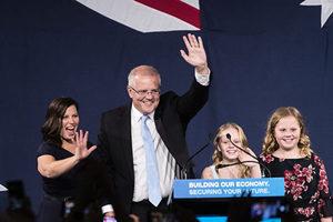 澳洲大選結果出人意料 聯盟黨奇蹟獲勝