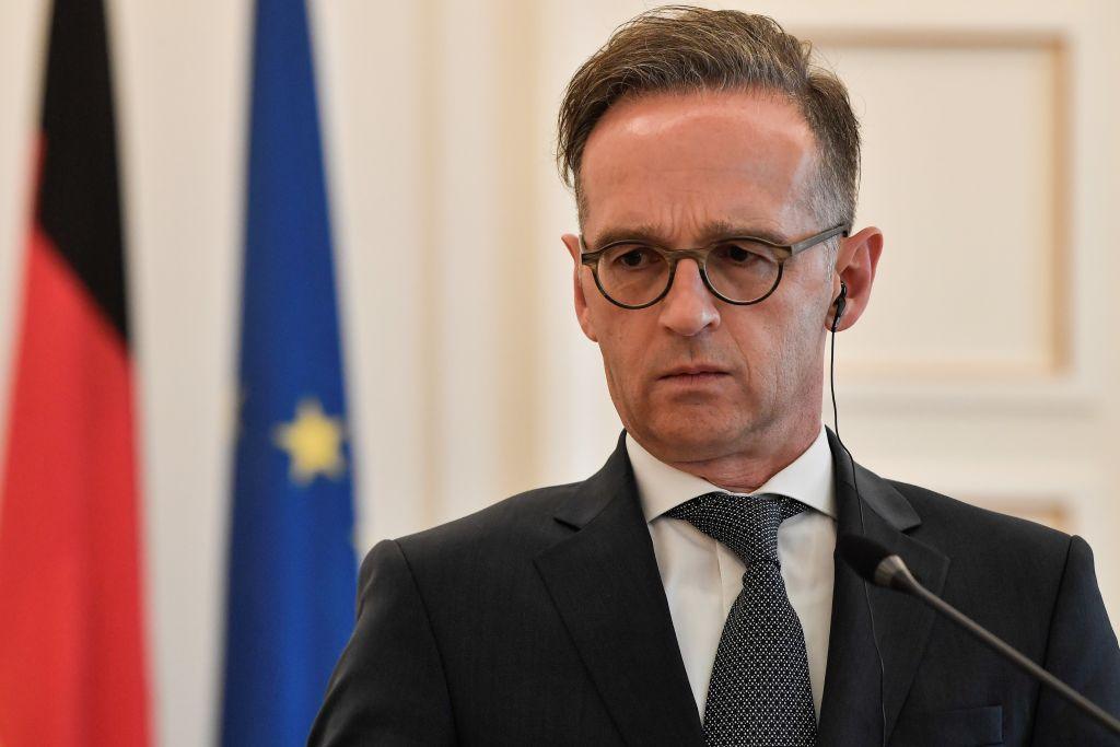 德國外長馬斯宣佈,將針對「港版國安法」採取明確制裁措施。(LOUISA GOULIAMAKI/AFP via Getty Images)