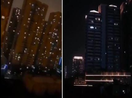 【現場影片】武漢某小區燈火寥若晨星