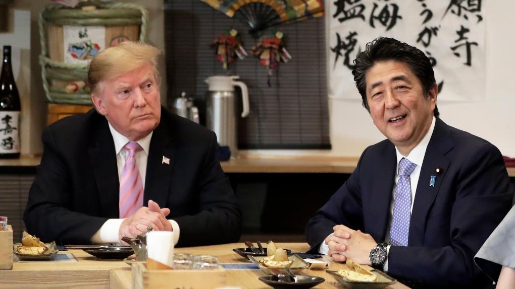 特朗普:與日本的貿易談判取得很大進展