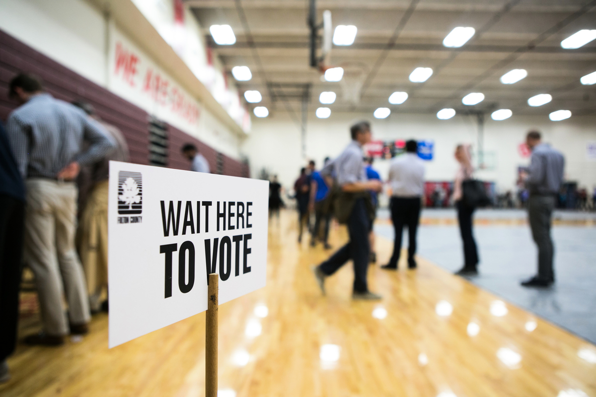 托馬斯‧莫爾協會(Thomas More Society)全國保守派法律組織阿米斯塔德項目(Amistad Project)將在6個州向州法院和聯邦地區法院提起訴訟,挑戰這些州的選舉結果。(Jessica McGowan/Getty Images)