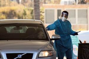 加州突破212萬感染 洛縣兩日新增3萬例
