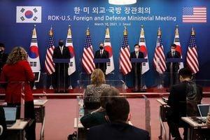 布林肯:美國在權衡對北韓外交和施壓選項