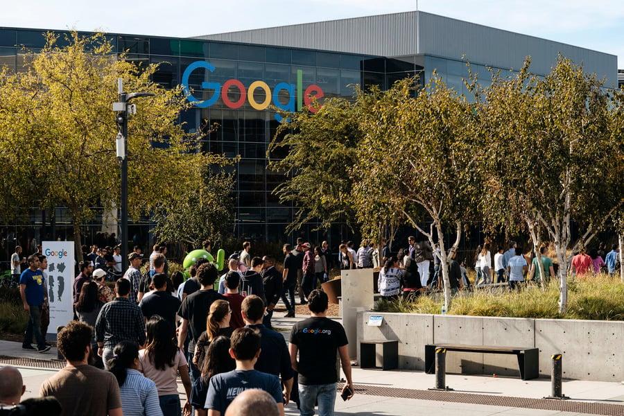 谷歌2萬員工接力罷工 抗議公司文化遭侵蝕