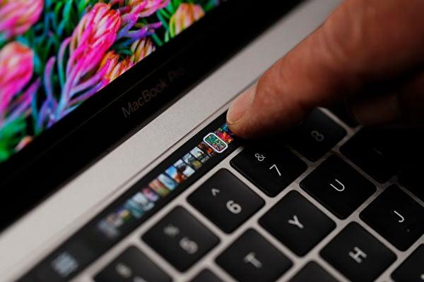蘋果發佈新版MacBook Pro 觸控功能搶眼