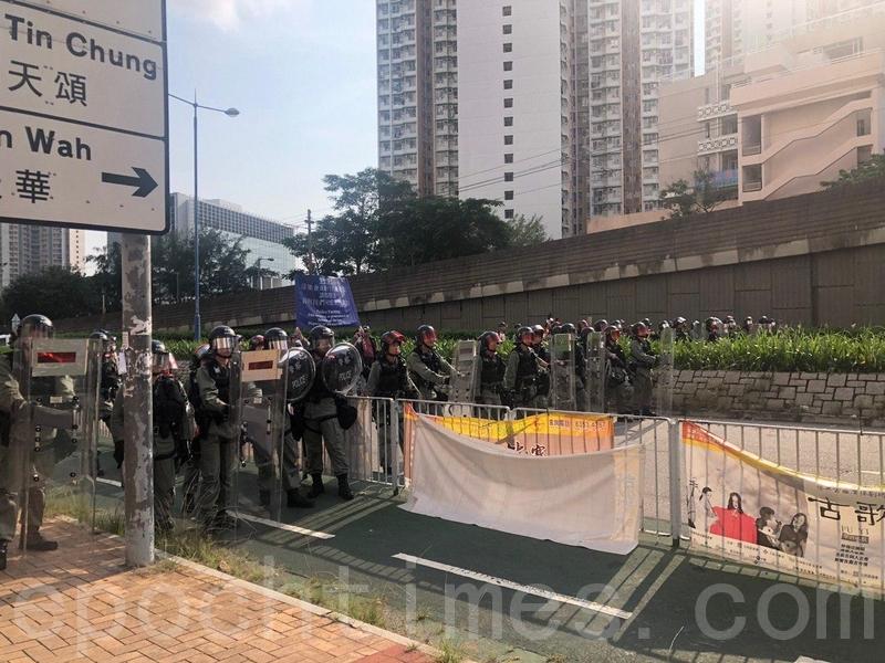 香港多地有親共群體圍毆反送中民眾