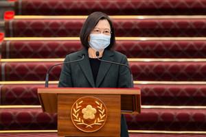 美國政權更迭 蔡英文:台美關係持續穩健發展