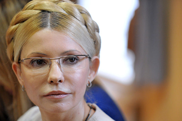 烏克蘭前總理尤莉婭.季莫申科(Yulia Tymoshenko)。(SERGEI SUPINSKY/2011 AFP)