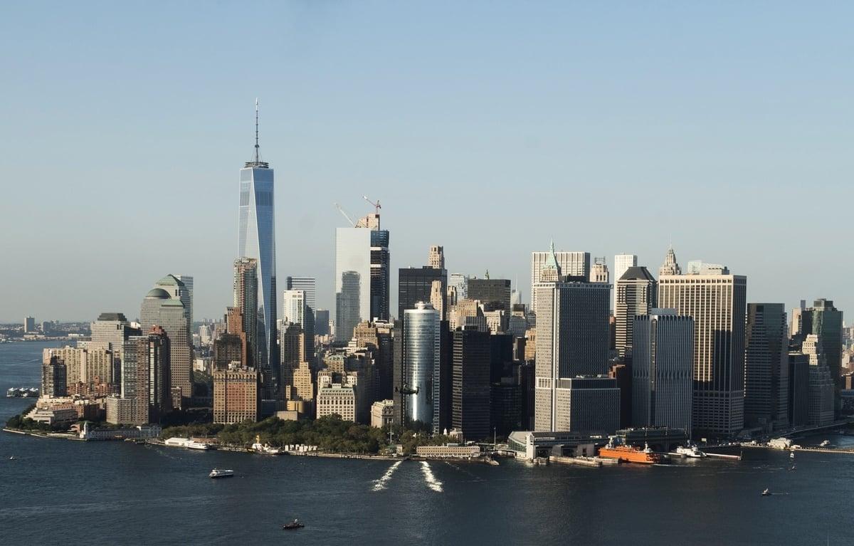 一份最新調查顯示顯示,紐約市超過三藩市,成為世界上最好的科技城市。(SAUL LOEB/AFP/Getty Images)