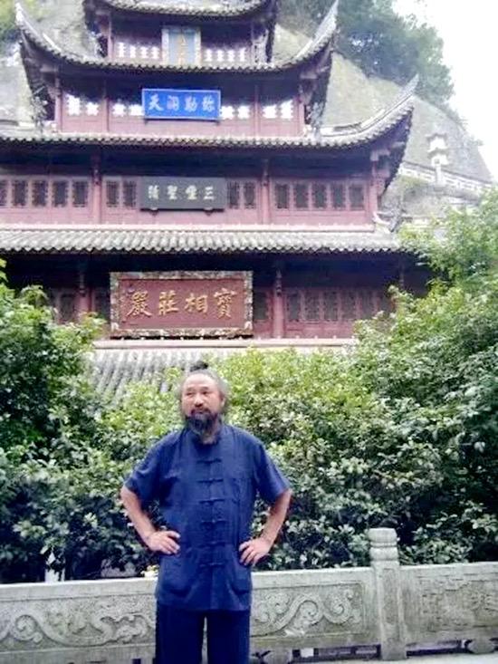 蔣志榮道長。(受訪者提供)
