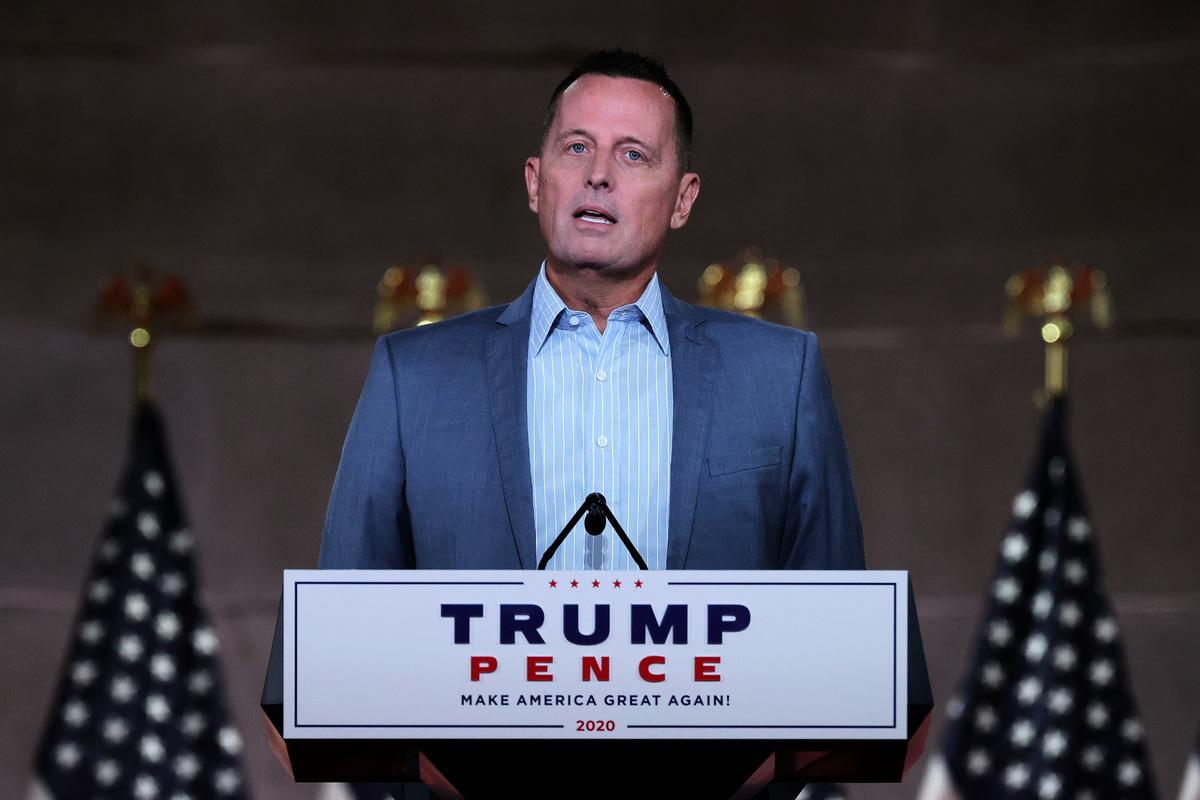美國前代理國家情報總監理查德·格瑞內爾(Richard Grenell)表示,中共對美國構成明顯而現實的危險。(Photo by Chip Somodevilla/Getty Images)