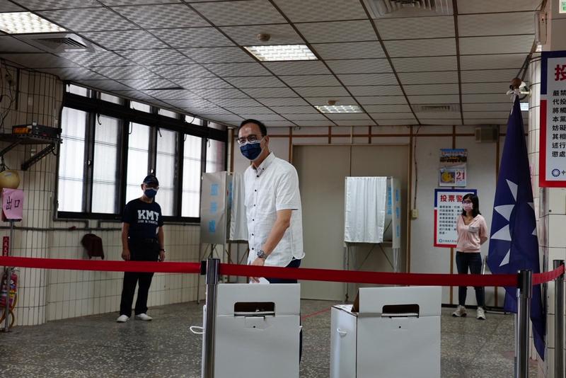 朱立倫當選台灣國民黨主席