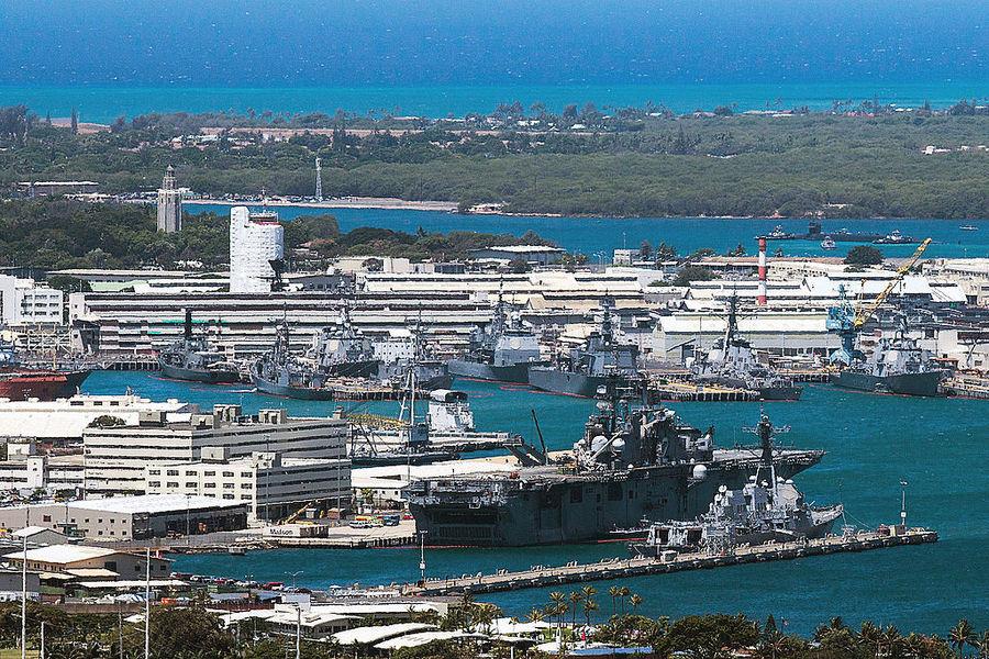 美主導10國環太平洋軍演 拒中共參加