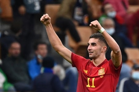 歐國聯準決賽 西班牙隊2:1勝十人意大利隊