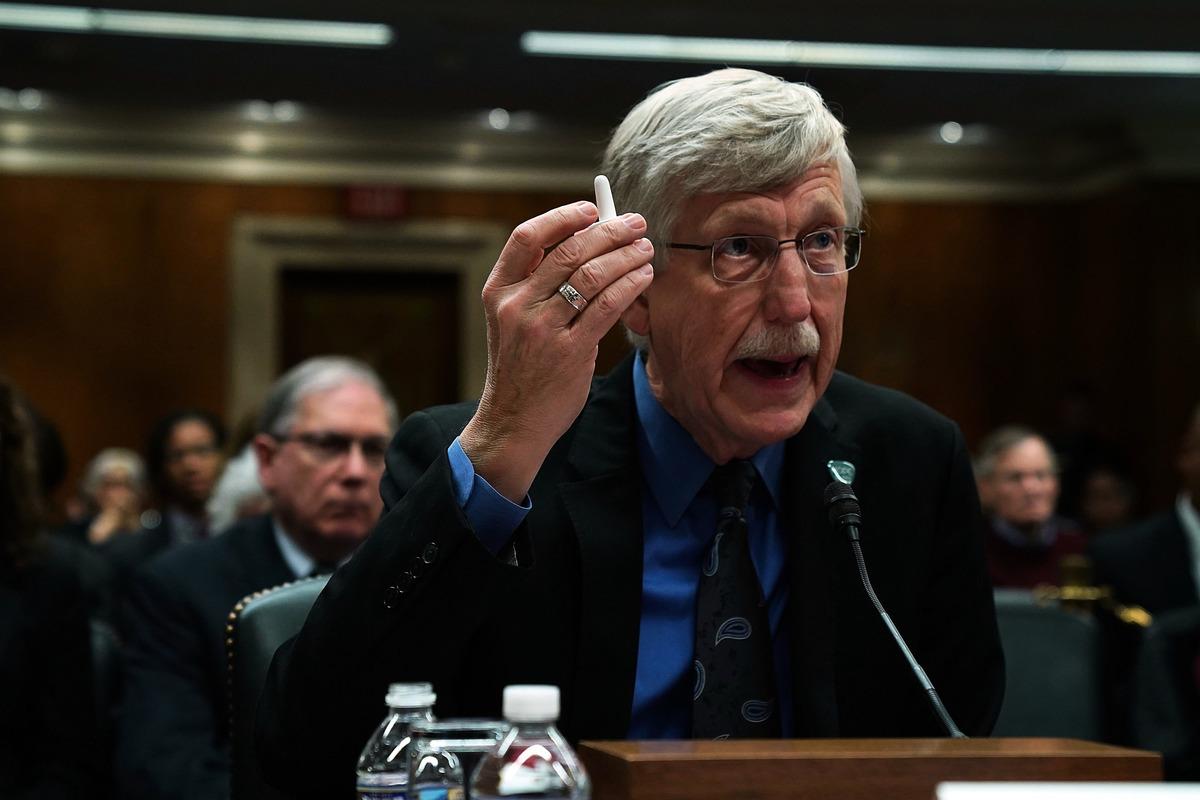 美國國立衛生研究院院長弗朗西斯・柯林斯(Francis Collins,如圖)上周出席參議院撥款委員會聽證會。(Alex Wong/Getty Images)