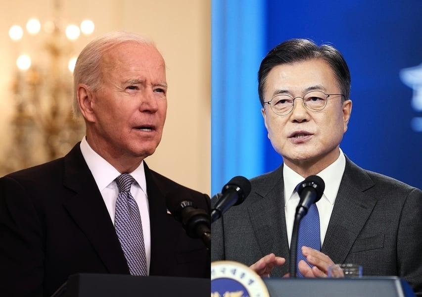 美韓領袖聲明將提台灣 強度不亞於美日聲明