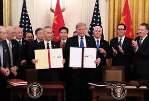 貿易通話日期敲定?中美釋放不同信息