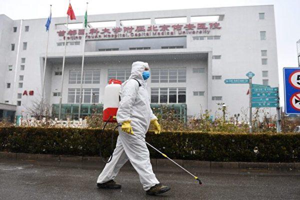 儘管北京當局已悄悄將疫情控制升級為武漢級別,但中共肺炎仍肆虐北京。而受疫情衝擊,北京肉蔬菜物價高漲。 示意圖。(GREG BAKER/AFP via Getty Images)