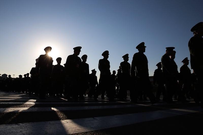 2021年9月14日,搜狐和網易網站相繼引述文章,提及江蘇省公安廳刑警總隊原總隊長羅文進曾策劃對某領導人不軌。(Lintao Zhang/Getty Images)