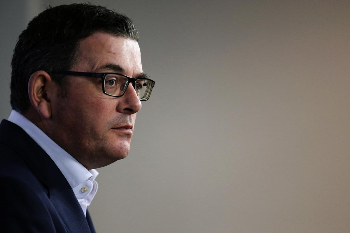 澳洲維州州長安德魯斯(Daniel Andrews)。(Darrian Traynor/Getty Images)