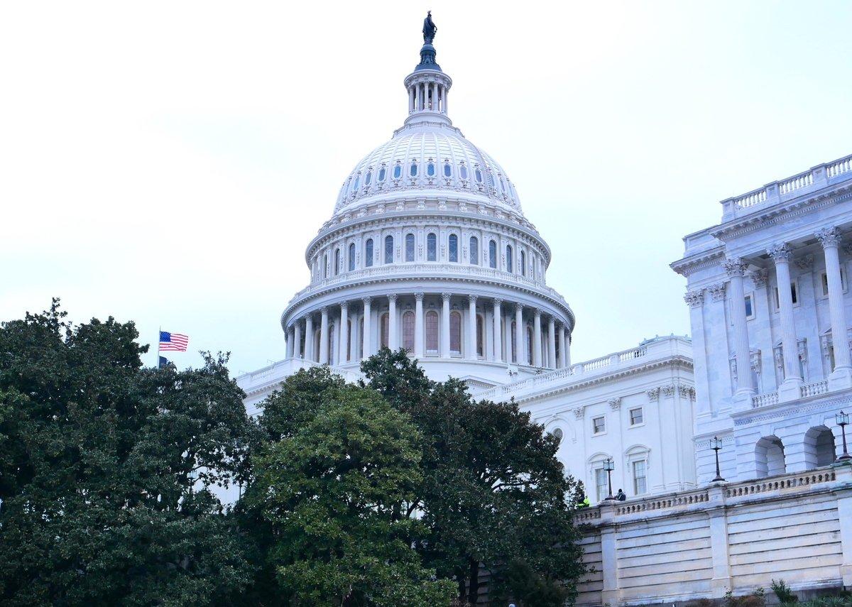 美國國會大廈。(李辰/大紀元)