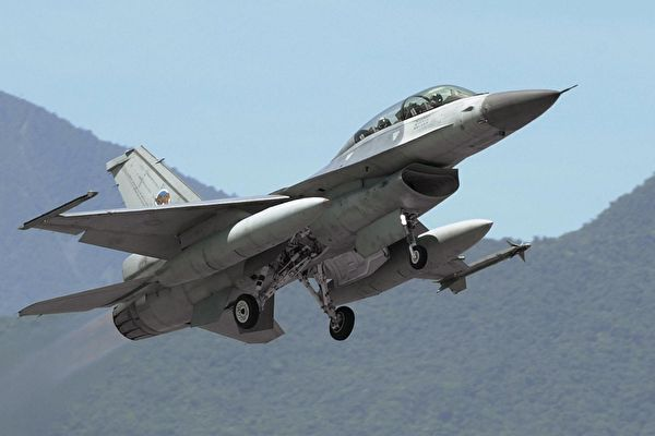 F-16戰機資料照。(PATRICK LIN/AFP)