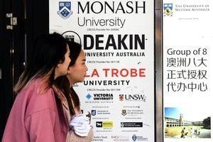 9萬中國學生接受澳大學網課 佔比逾半