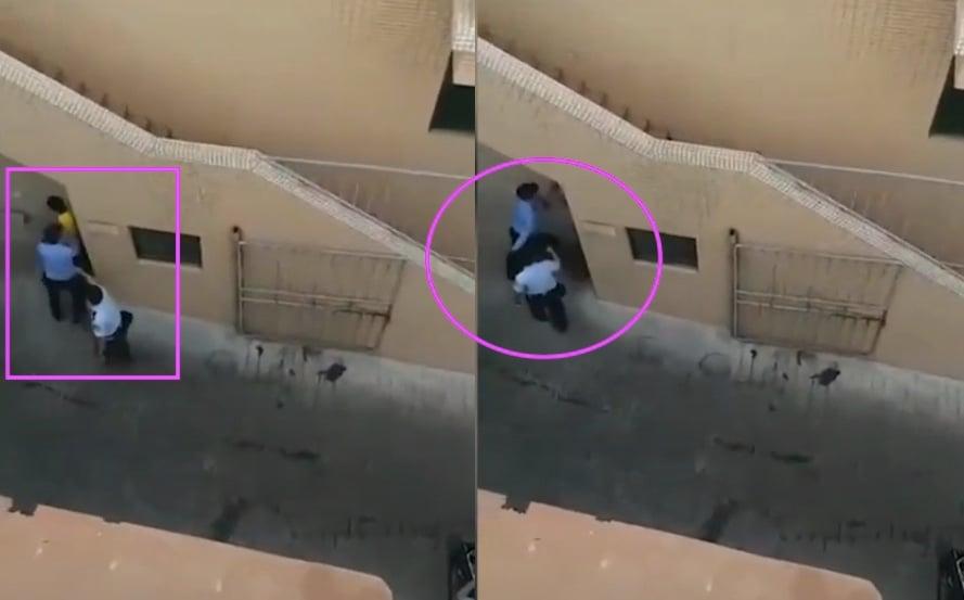 廣州警方毆打外賣小哥 官方解釋引網民砲轟