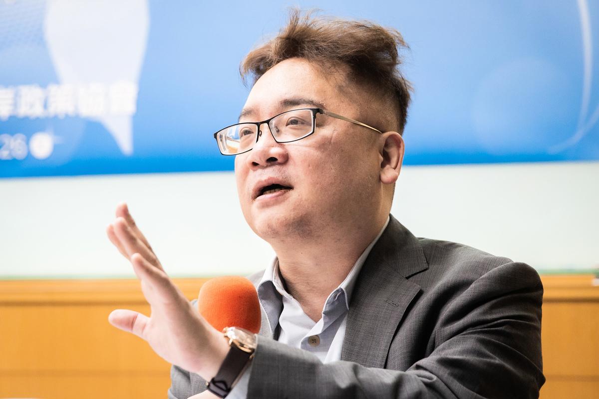 兩岸政策協會研究員兼副秘書長張宇韶表示,台灣社會歷經反送中省思與王立強共諜案等事件,使很多台灣人改變對中共的認知,並相信中共隱匿疫情的狀況,讓台灣的政府有充份民意基礎可果斷防疫,「否則台灣的處境可能跟現在的南韓一樣。」圖為張宇韶資料照。(陳柏州/大紀元)