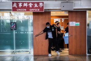 港大學生會成員被捕 學者:中共鎮反運動再現