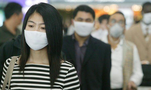 武漢市中共肺炎擴散,各國警覺。圖為示意圖。 (Christian Keenan/Getty Images)